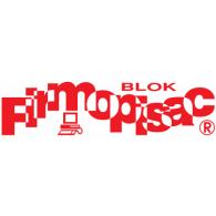 Blok Firmopisac logo vector logo