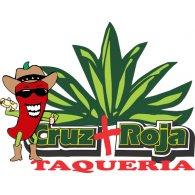 Taqueria Cruz Roja logo vector logo