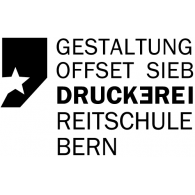 Druckerei in der Reitschule logo vector logo