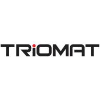 Triomat logo vector logo