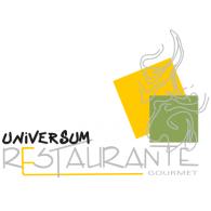 Universum Restaurante logo vector logo