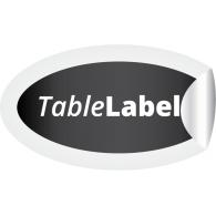 TableLabel logo vector logo