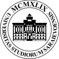 Universitas Studiorum Saraievoensis logo vector logo