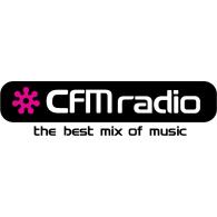 CFM Radio logo vector logo