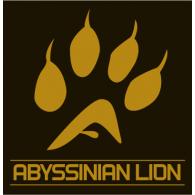 Abyssinian Lion logo vector logo
