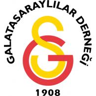 Galatasaraylilar Dernegi 1908 logo vector logo