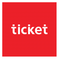 Ticket Design logo vector logo