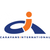 Caravans International logo vector logo