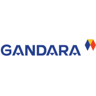 Gandara logo vector logo
