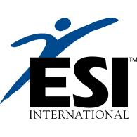 ESI International logo vector logo