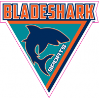 Bladeshark Sports logo vector logo