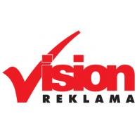 VISION Reklama logo vector logo