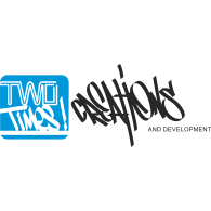 2 Times Creations and Development logo vector logo