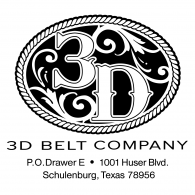 3D Belt Company logo vector logo