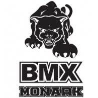 Monark BMX Pantera logo vector logo