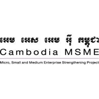 Cambodia MSME logo vector logo