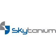 Skytanium logo vector logo
