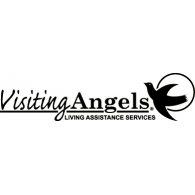 Visiting Angels logo vector logo
