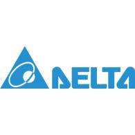 Delta Electronics logo vector logo