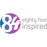 84 Inspired logo vector logo