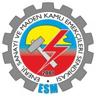 ESM logo vector logo