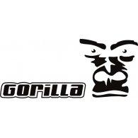 Gorilla logo vector logo