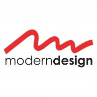 Modern Design logo vector logo