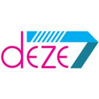 Deze7 logo vector logo