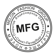 Melon Fashion Group Stamp logo vector logo