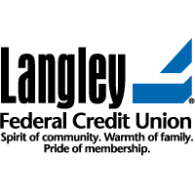Langley Federal Credit Union logo vector logo