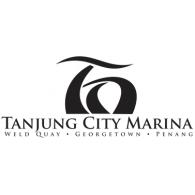 Tanjung City Marina logo vector logo