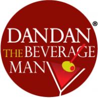 Dan Dan The Beverage Man logo vector logo
