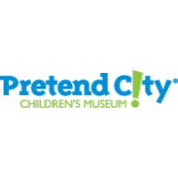 Pretend City logo vector logo
