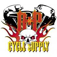 R & P Cycle Supply logo vector logo