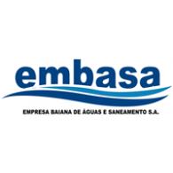 Embasa logo vector logo