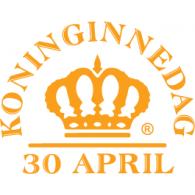 Koninginnedag Nederland logo vector logo