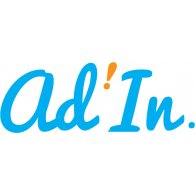 Ad'In logo vector logo