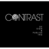 CONTRAST Design & Publishing logo vector logo