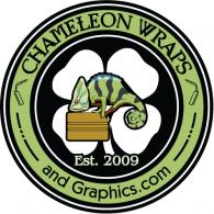 Chameleon Wraps logo vector logo
