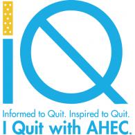 AHEC I QUIT logo vector logo