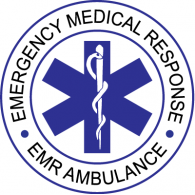 EMR Ambulance logo vector logo