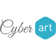Cyberart logo vector logo