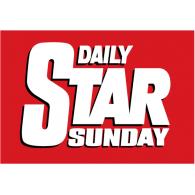 Daily Star Sunday logo vector logo