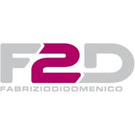 F2D logo vector logo