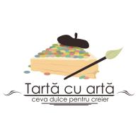 Tarta cu arta logo vector logo
