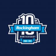 Rockingham Motor Speedway – 10th Anniversary logo vector logo