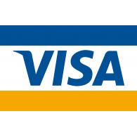 Visa logo vector logo