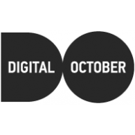 Digital October logo vector logo