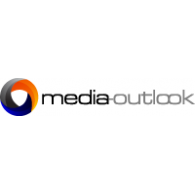 media-outlook logo vector logo
