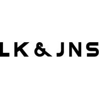 LK & JNS logo vector logo